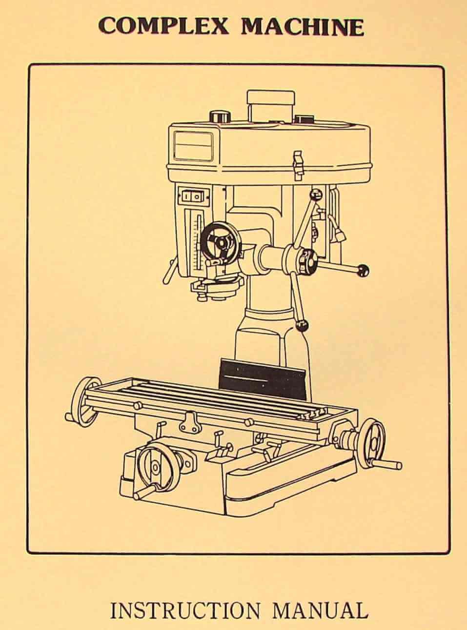 Asian milling machine