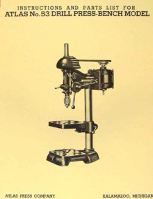 Drill press owner s manual
