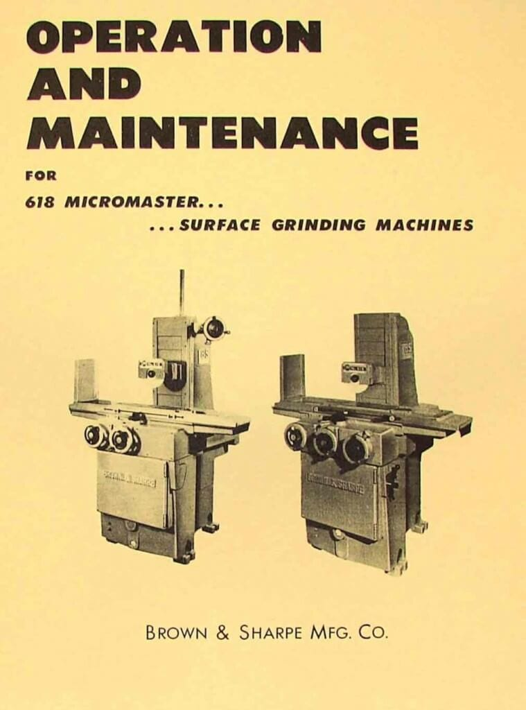 Surface grinding machine parts and functions pdf