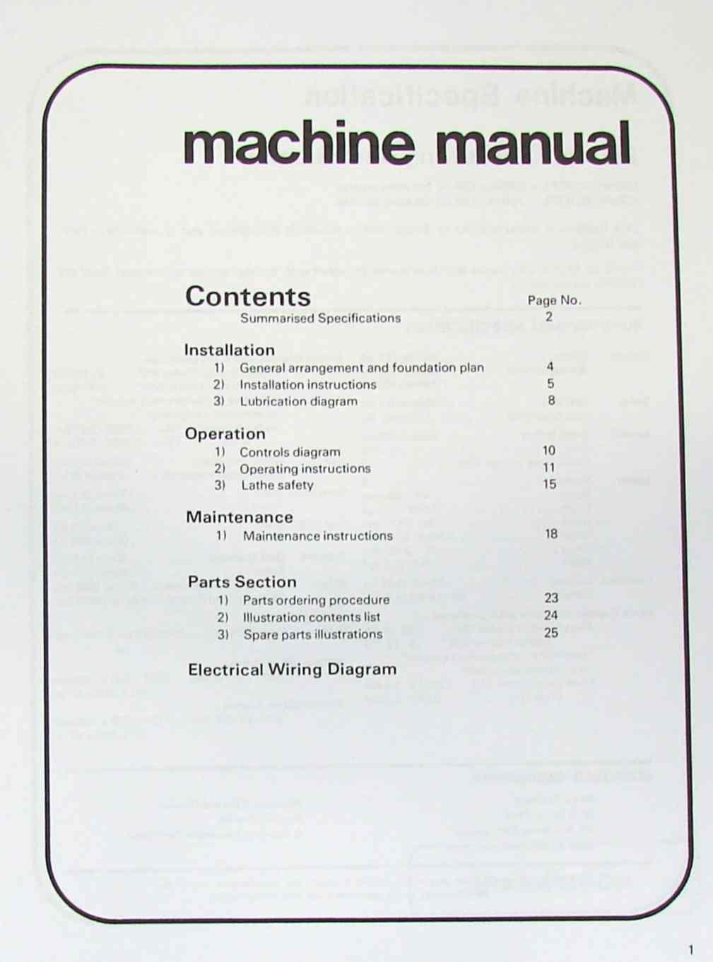 General Lathe Wiring Diagram Data Diagrams Reversible Drum Switch For South Bend Clausing 11 Inch Metal Instructions Parts Manual Ozark Rh Ozarktoolmanuals Com Ac Motor