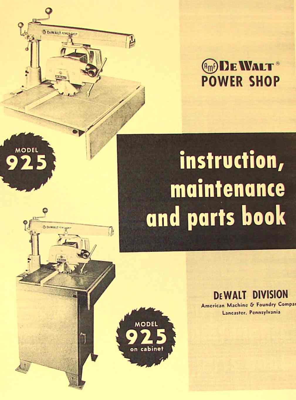 Craftsman 10 Radial Arm Saw Manual Pdf Wiring Diagram Free Picture