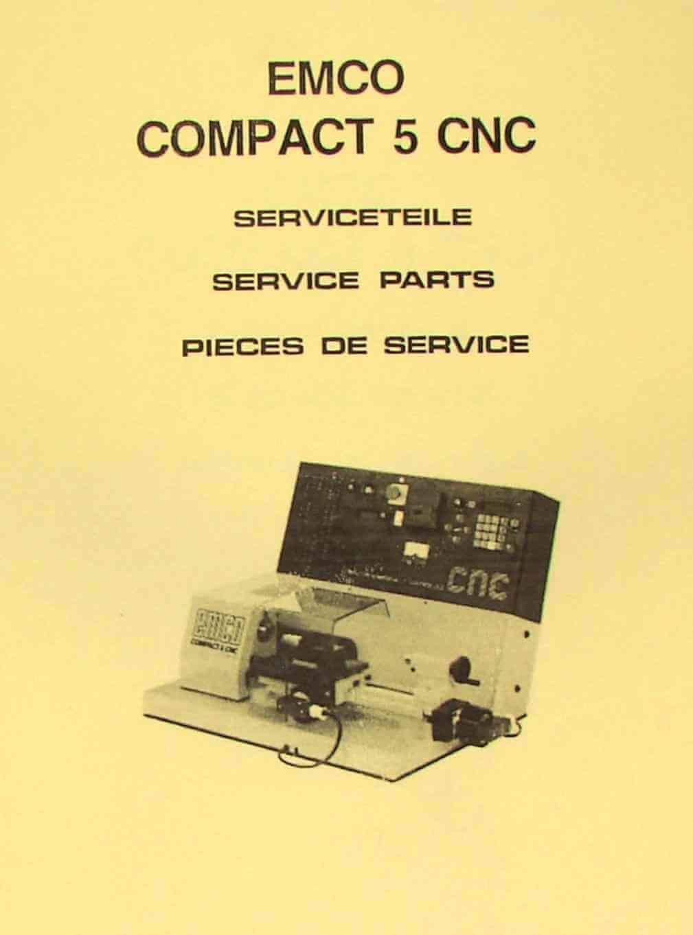 Emco vmc 100 Manual