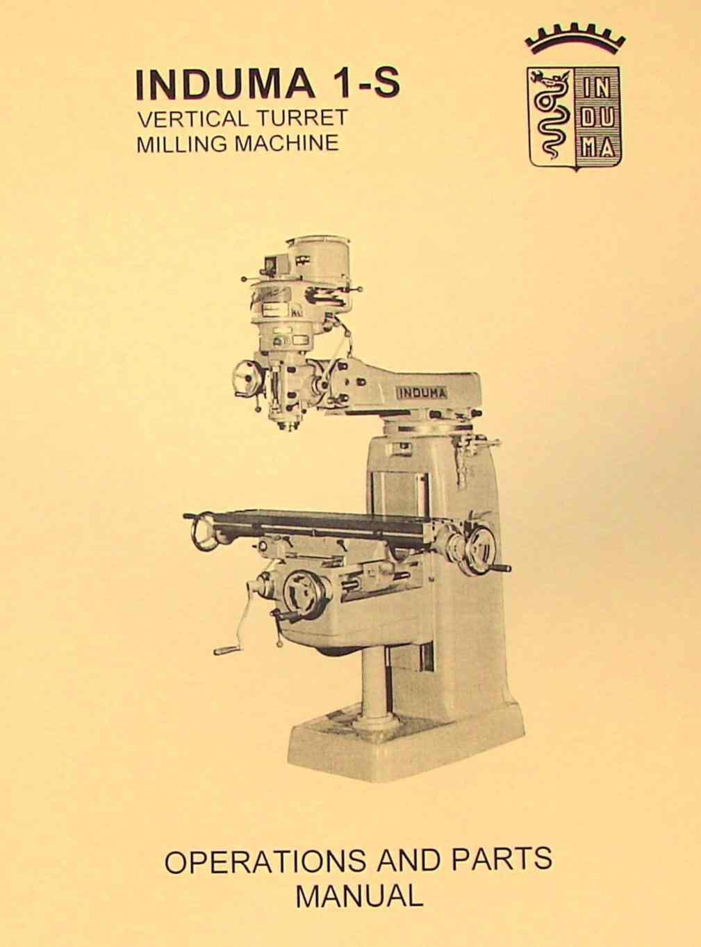 Wilton Milling Machine Repair Manual Vise Parts Diagram Induma 1 S Vertical Turret Ozark Tool Rh Ozarktoolmanuals Com