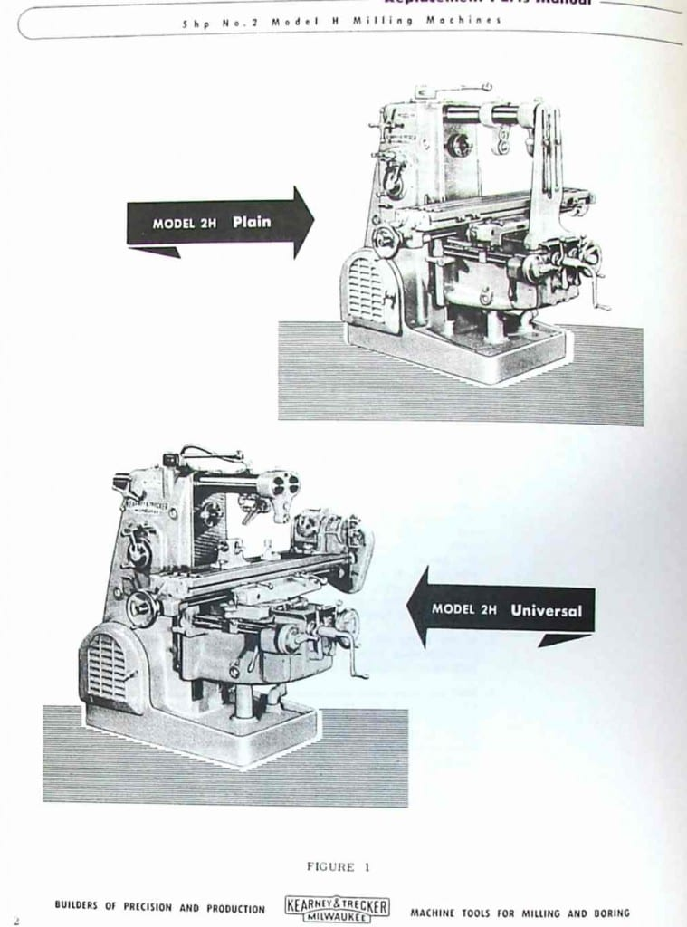 parts of milling machine pdf