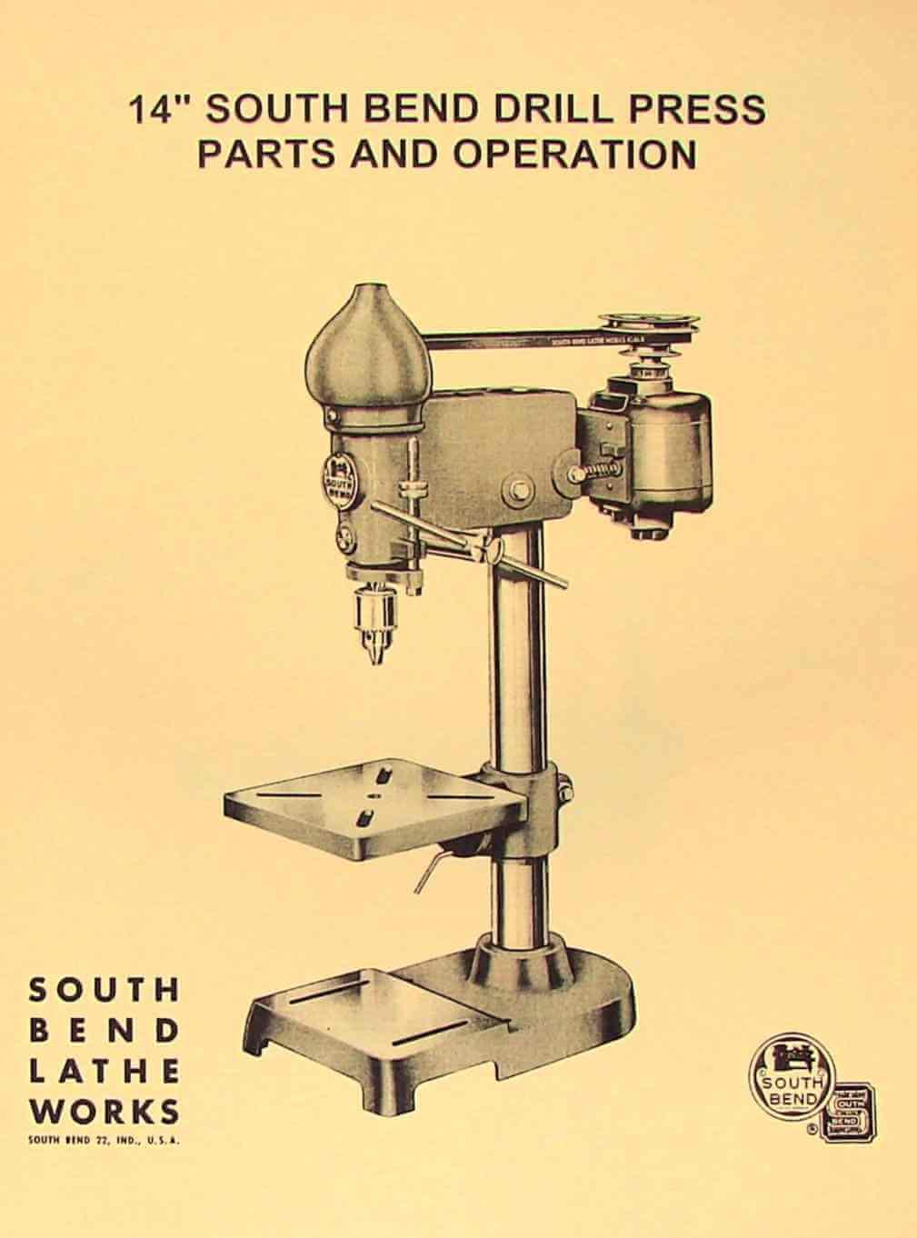 Wilton Drill Press 2015 Manual Vise Parts Diagram South Bend 14 Operator S Ozark Tool Rh Ozarktoolmanuals Com Delta Rockwell Variable Speed Floor