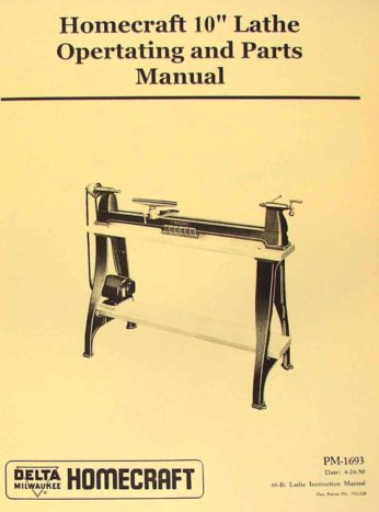 Wood Lathes Ozark Tool Manuals Amp Books