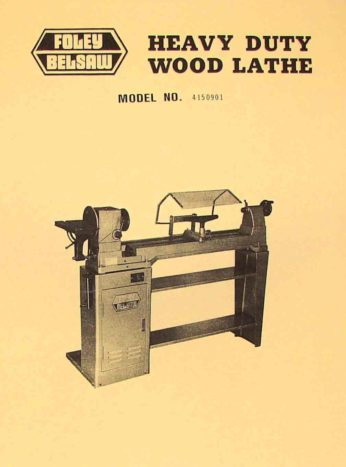Wood Lathes Ozark Tool Manuals Amp Books