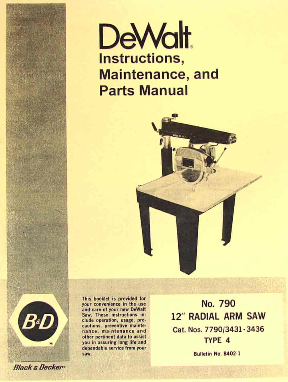Craftsman Radial Arm Saw Wiring Diagram Free Picture Library