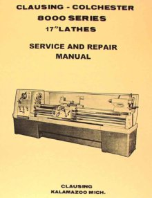 Clausing 5900 lathe manual