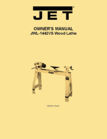 Jet Jml 1014 Mini Wood Lathe Owner S Manual Ozark Tool