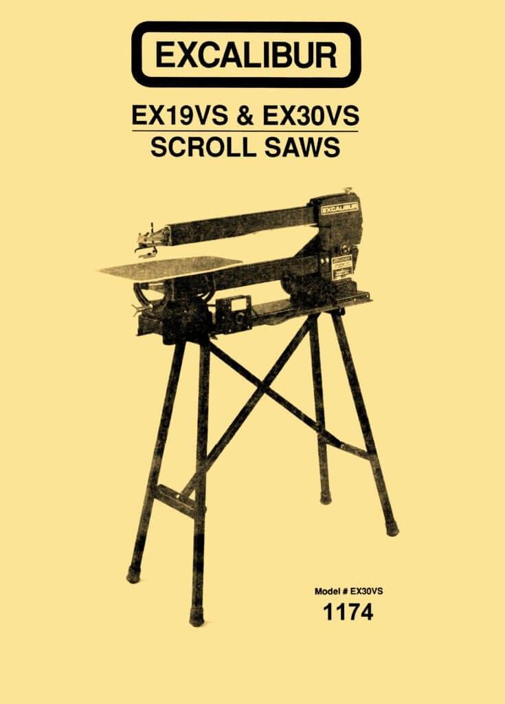 "Excalibur EX19VS & EX30VS 19"" & 30"" Variable Speed Scroll ..."