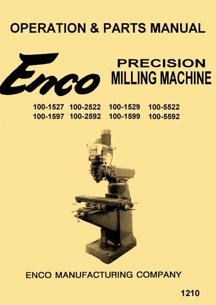 Enco Jet Asian 9 Quot X42 Quot Amp 9 Quot X49 Quot Vertical Milling Machine
