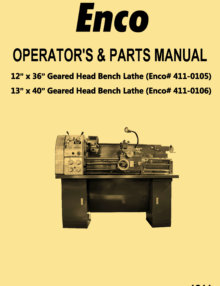 Ozark Tool Machinery Manuals Amp Books