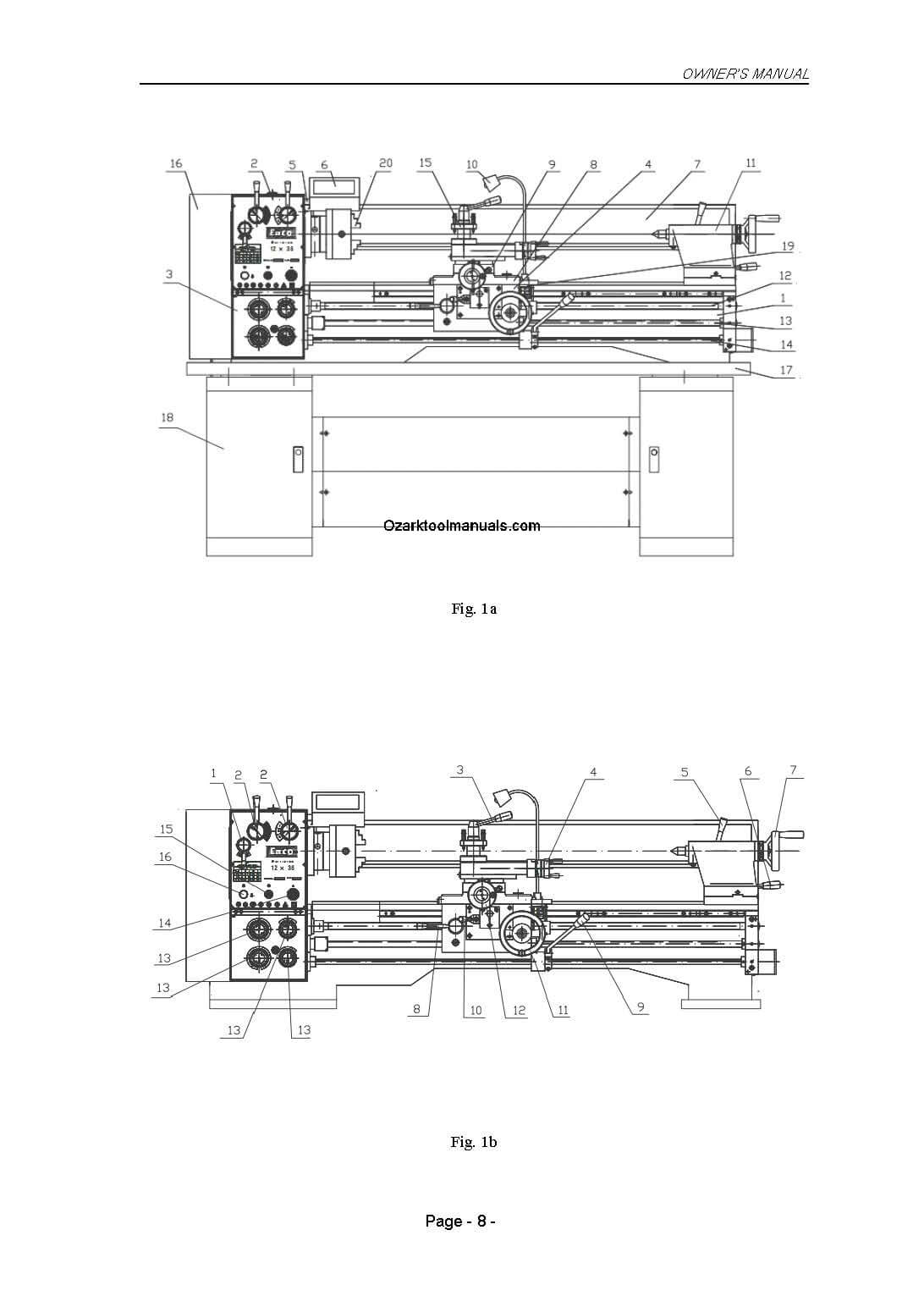Jet Lathe Wiring Diagram Schematic Diagrams Enco Asian 1236 1340 Metal Lathes 411 0105 0106 Instructions Single Phase Ac Motor