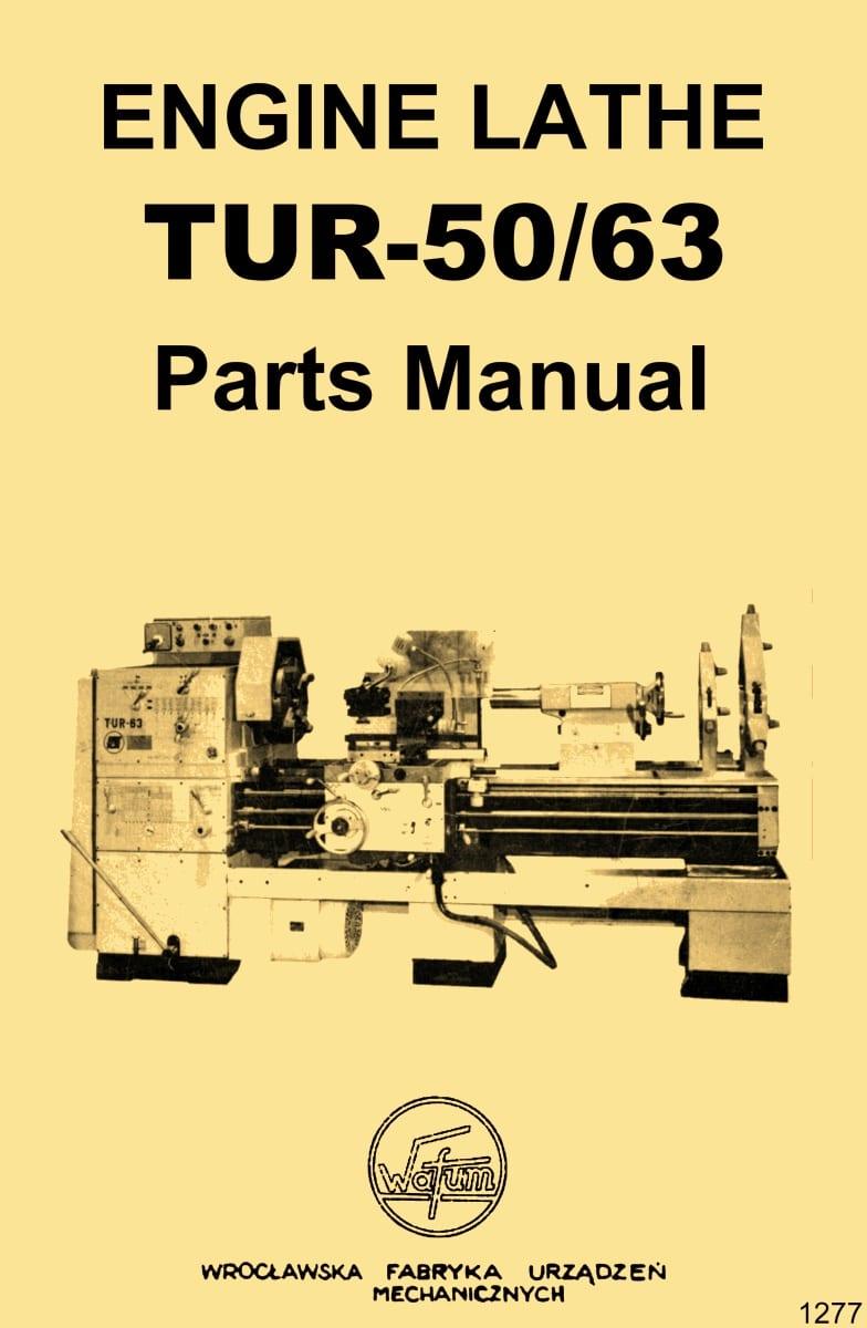 Polamco Famot Toolmex TUJ-50M Tarnow AFM Metal Lathe Part Wiring Manual 1274